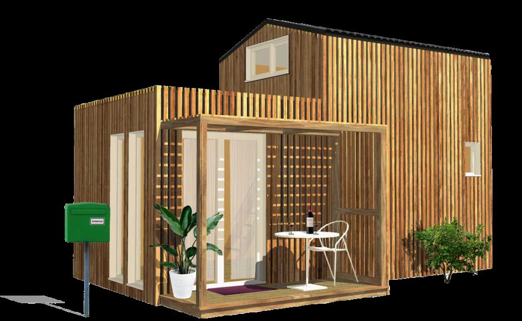 Maison de jardin en bois Greenkub
