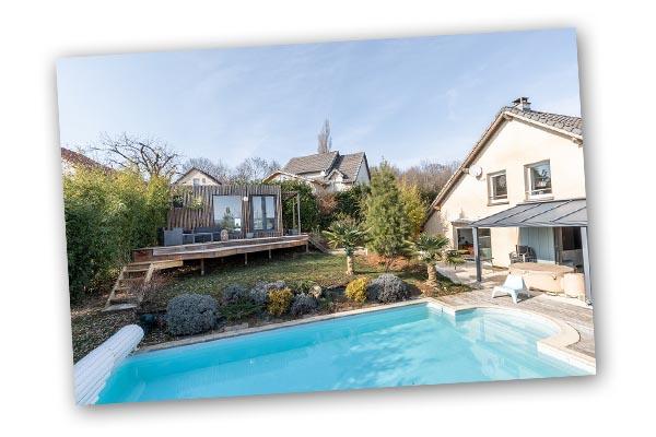 Poolhouse bois design